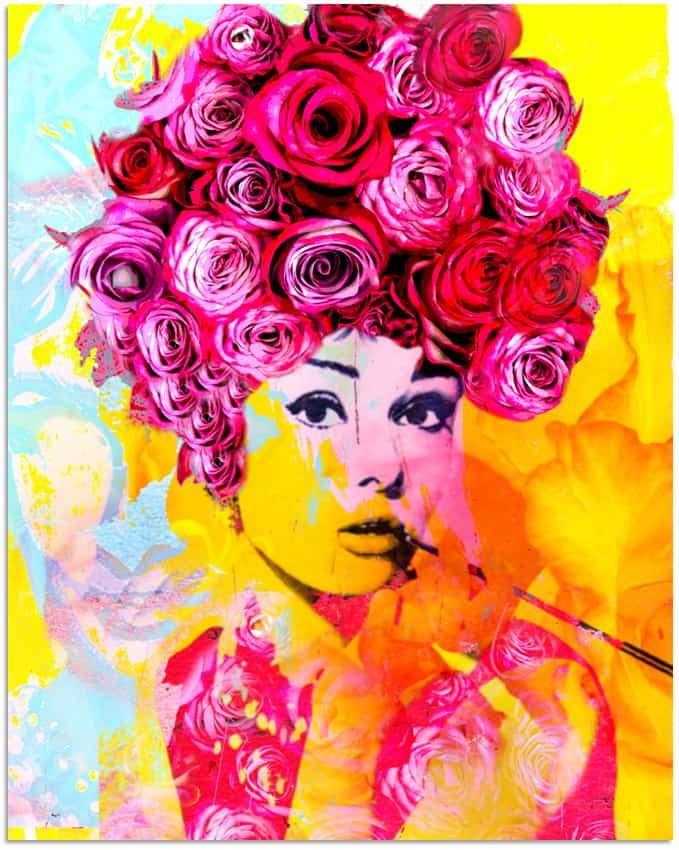 Dganit Blechner Because She is My Rose 150x120